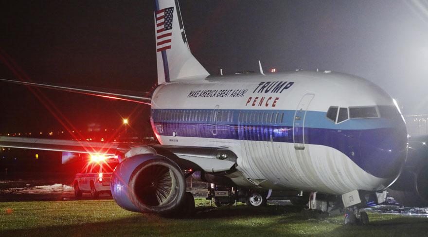 ABD'de Başkan Yardımcısı adayının uçağı kaza yaptı