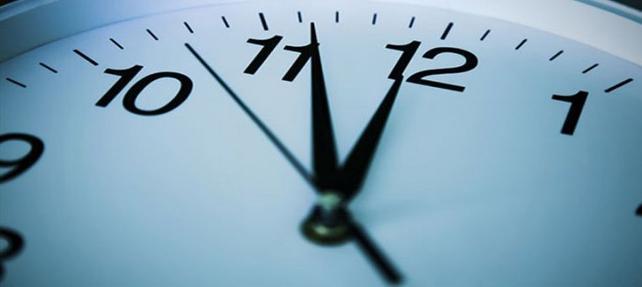 Dikkat! Pazar günü saatlerinizi kontrol edin