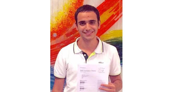 Türk öğrencinin SAT başarısı