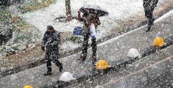 Beklenen kar için tarih verildi