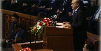 Cumhurbaşkanı Erdoğan: Sözde değil hakikatte kardeşiz