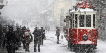 İstanbul'da 3-10 santim arasında kar bekleniyor