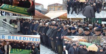 Ali Erdoğan, dualarla uğurlandı