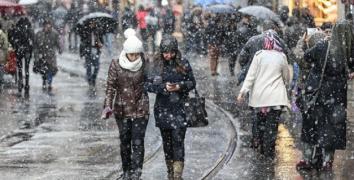 İstanbul Valiliğinden kar ve soğuk hava uyarısı