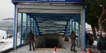 Kirazlı metrosunda 'Ortaköy saldırganı' alarmı