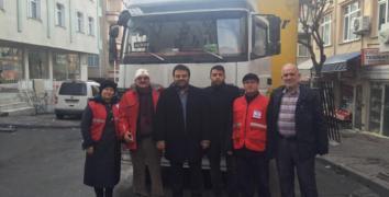 ESDEF'in Halep halkına yardımları sürüyor