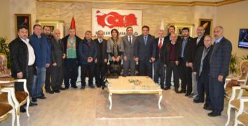 ESDEF Esenler Kaymakamı Hulusi Şahin'i ziyaret etti