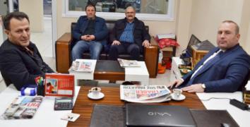 Umut Özkan Gazetemizi ziyaret etti