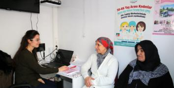 Dörtyol'da mamografi taraması
