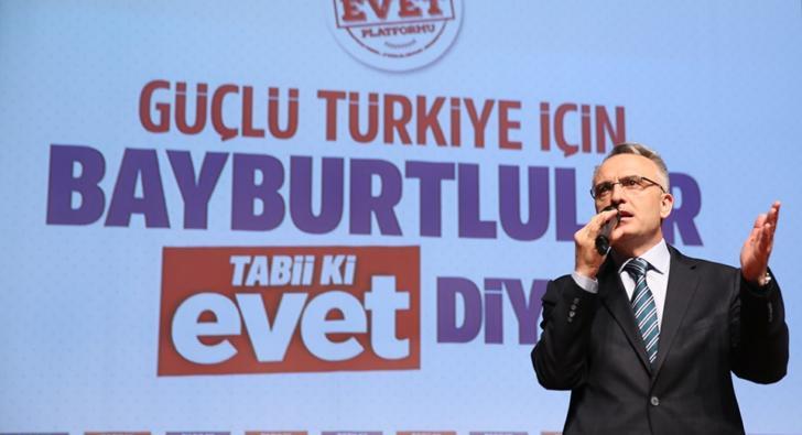 Maliye Bakanı Ağbal: Mega projelere hız verdik