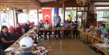 RİDEF, Basın ile kahvaltı da buluştu