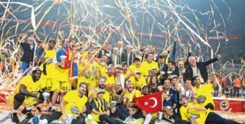 Fenerbahçe Olympiakos'u dağıttı, Avrupa şampiyonu oldu