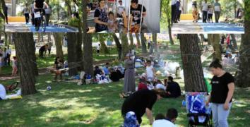 Esenler 15 Temmuz Şehitler Parkı'na büyük ilgi