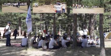 """""""İzciler Bolu Aladağ'da kamp kurdu"""""""