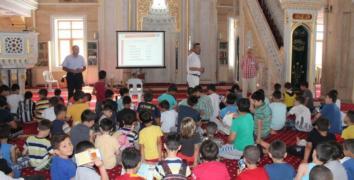Esenler'de camilerde Afet Bilinci eğitimi