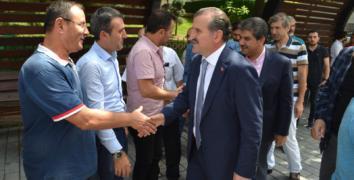 Bakan Osman Aşkın Bak Halk Meclisi'nde