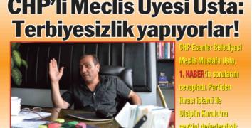 Esenler CHP'de kazan kaynıyor...