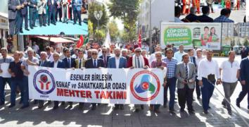 Esenler'de Ahilik Haftası kutlanıyor