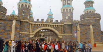Türk ve Suriyeli çocukların masalsı günü