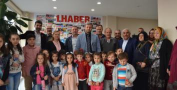Dedeler - Nineler ve Torunlar Gazetemizi ziyaret etti