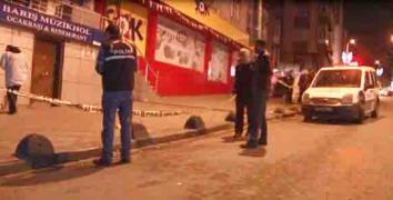 Esenler'de müzikholde silahlı kavga: 1 kişi yaralandı