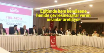 Saadet Partisi İstanbul'daki Yerel Basınla buluştu