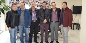 AK Parti KKB Mahalle Teşkilatı Gazetemizi ziyaret etti