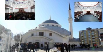 """Fahreddin Paşa Camii ibadete açıldı"""
