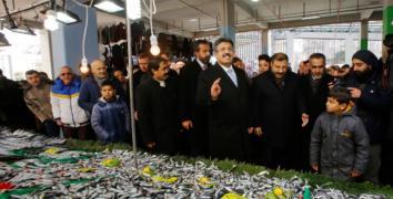 Sultanmurat Pazar Kompleksi ve Otoparkı açıldı