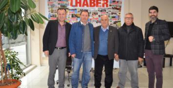 İYİ Parti Gazetemizi ziyaret etti