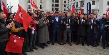 Esenler'deki Sivil Toplum Kuruluşlarından 'Zeytin Dalı'na tam destek