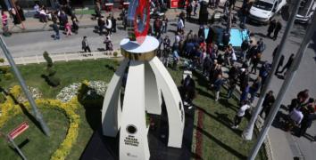 Şehit, Volkan Karatepe Meydanı dualarla açıldı