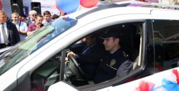 Esenler Belediyesi'nden Emniyet'e araç desteği