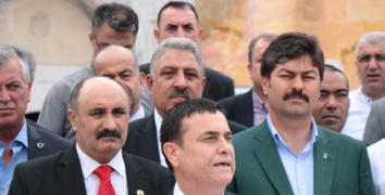 Esnaf Odaları Başkanları, AK Partili Erkan'a destek için Kırşehir'de buluştu