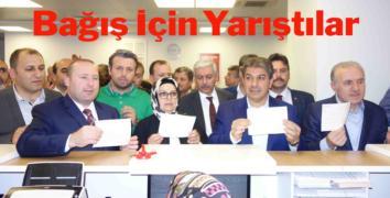 Esenler'den Erdoğan'a büyük bağış desteği