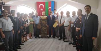 Bakü'de Nuri Paşa'nın büstü açıldı