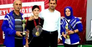 Koç ailesinin gurur günü: Akif Koç, Türkiye Şampiyonu oldu