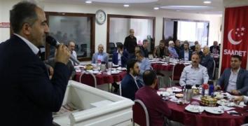 Saadet Partisi, yerel seçim için kolları sıvadı