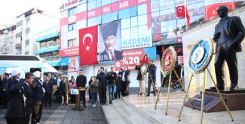 Esenler Atatürk'ü andı