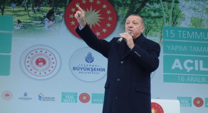 Erokspor Başkan Erdoğan'a ses verdi