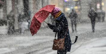 İstanbul'a Cuma günü kar geliyor!