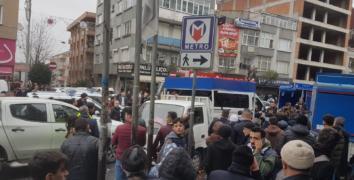 Esenler'de Polis-Zabıta ve seyyar satıcı arbedesi!