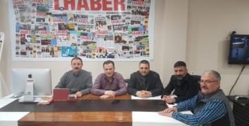 Turgay Özer, Gazetemizi ziyaret etti