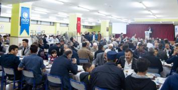 Esenler AGD geleneksel iftar proğramında buluştu