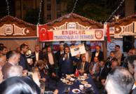 Göksu, Trabzonlularla Sahur'da buluştu