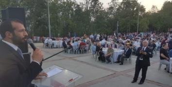 MHP Esenler'in iftar programına katılım yüksek oldu