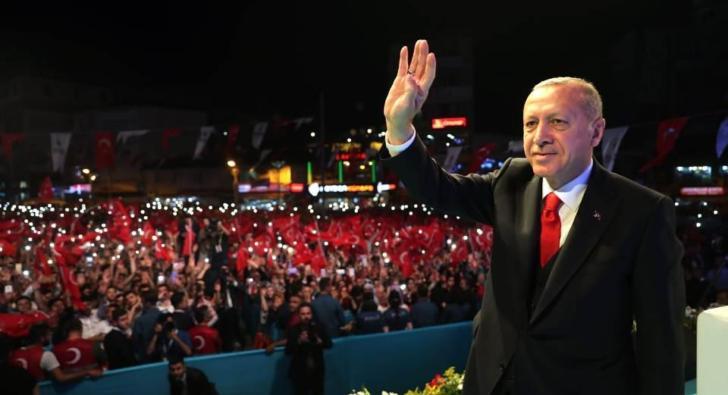 Erdoğan ve Yıldırım Esenler'de Dua'da buluştular