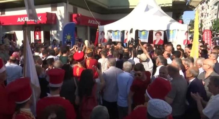 """Akşener: """"Mitili değil ama postu İstanbul'a seriyorum"""""""