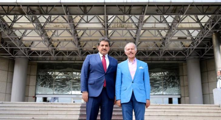 Göksu'dan Bayrampaşa Belediye Başkanı Aydıner'e ziyaret