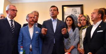 İBB Başkanı İmamoğlu otogarın alt katlarını gezdi
